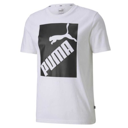 Camiseta Puma Big Logo White