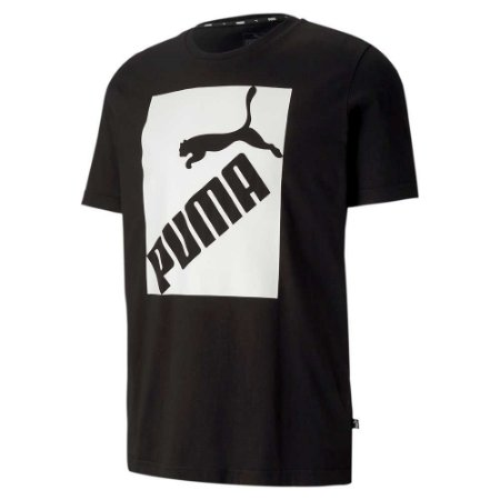 Camiseta Puma Big Logo Black