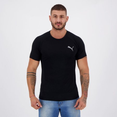 Camiseta Puma Evostripe Tee Black