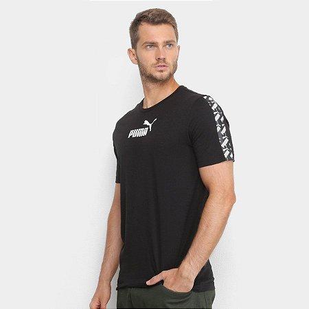 Camiseta Puma Tee Amplified Black