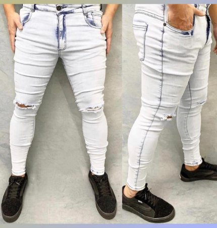 Calça Jeans Creed Clara Rasgo Joelho