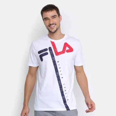 Camiseta Fila Pixel Tiger Masculina