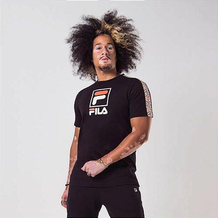 Camiseta Fila Lucca - Black/Cream