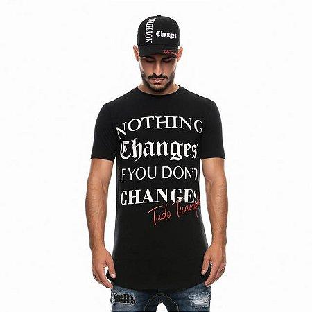 Camiseta Tudo Tranquilo Changes