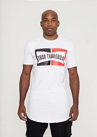 Camiseta Tudo Tranquilo Block Color