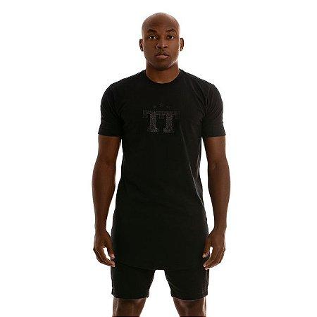 Camiseta Tudo Tranquilo Shine Black