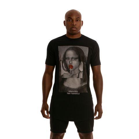 Camiseta Tudo Tranquilo Mona Vibes