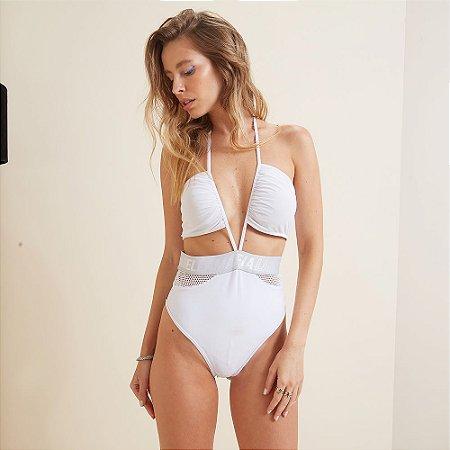 Body Branco Labellamafia Holografic 21065