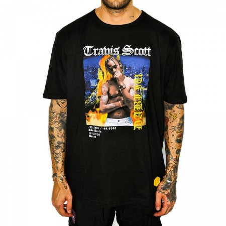 Camiseta Dabliu Costa Travis Scott