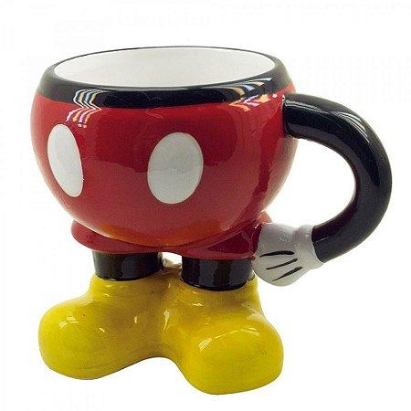 Caneca 3D Mickey Corpo Porcelana