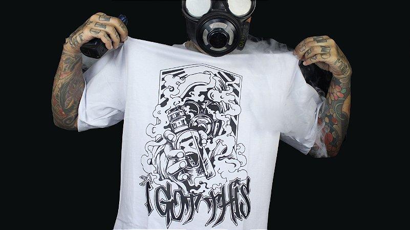 Camiseta GasMask | White