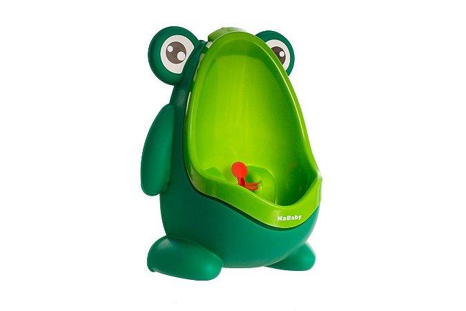 Mictório infantil Sapinho (verde) Stand Up (fica em pé/sem fixação) - Kababy - Cód. 22004G