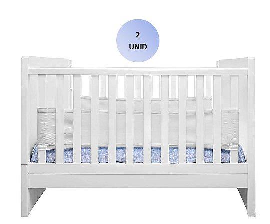 Tela respirável para berço Air Baby (branco) c/ 2 uni - Kababy - Cód.11001B