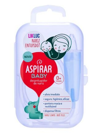 Aspirador nasal bebê Aspirar Baby - LikLuc