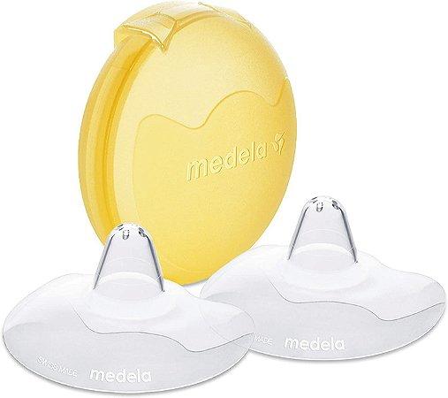 Bico de silicone para amamentar (tamanho M c/ 20mm) - Medela