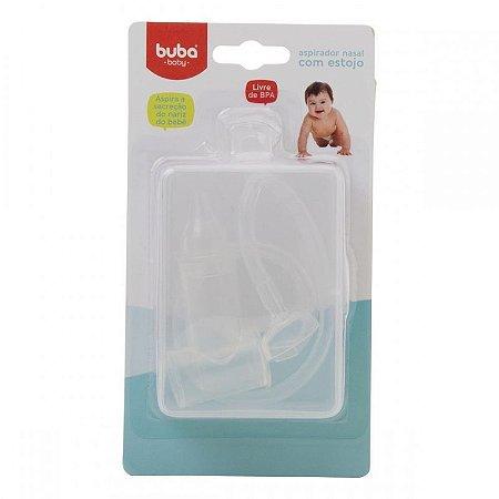 Aspirador nasal bebê (com estojo) Higiene Nariz Sugador De Catarro - Buba - Cód. 7551