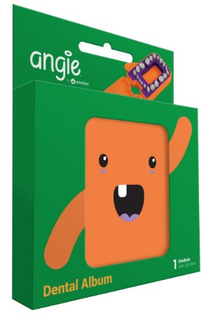 Porta Dentinhos Laranja - Angie