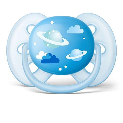 Chupeta Avent Ultra Soft 6 a 18 meses Unitária (Desenhada) - SCF528/12 - Philips Avent