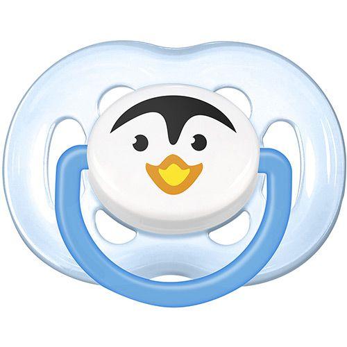 Chupeta Avent Freeflow 6 a 18 meses Unitária (Decorada Pinguim) - SCF183/14 - Philips Avent
