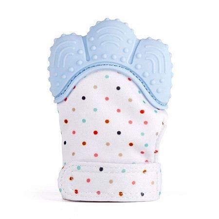 Luvinha mordedor para bebê Dedinhos (Azul) - Buba - Cód. 08967