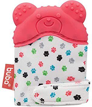Luvinha mordedor para bebê Urso (Rosa) - Buba - Cód. 10719