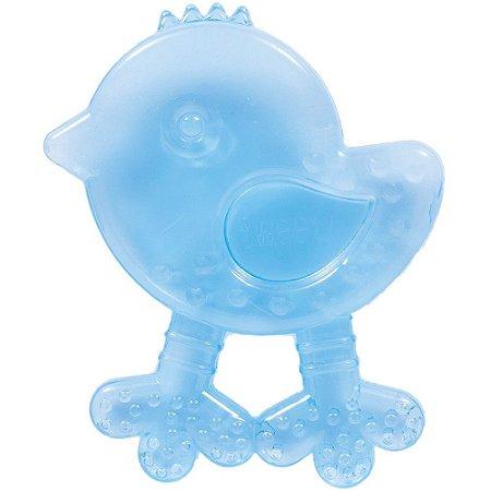 Mordedor para bebê com água Passarinho (Azul) - Buba - Cód. 6144