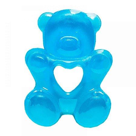 Mordedor para bebê com água Ursinho (Azul) - Buba - Cód. 5226