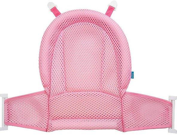 Rede para banheira bebê rede de proteção para Banho (Rosa) - Buba - cód. 12755