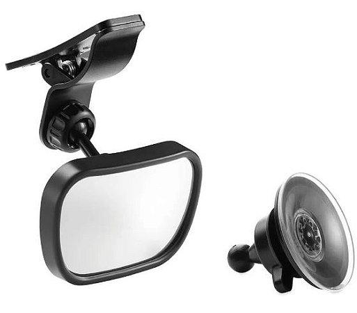 Espelho retrovisor bebe 2 em 1 safe travel - Multikids Baby - Cód. BB180