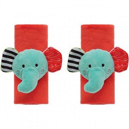 Protetor de cinto de segurança infantil (Elefantinho Happy Zoo) - Buba - Cód. 09834