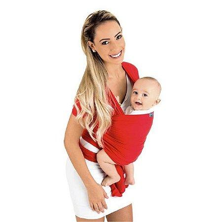Sling wrap Sling para carregar bebê (vermelho) - Kababy