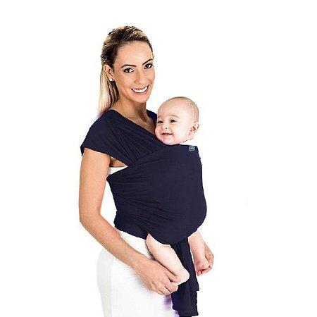 Sling wrap Sling para carregar bebê (azul marinho) - Kababy