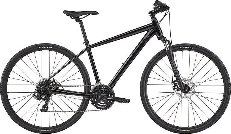 BICICLETA CANNONDALE QUICK CX 4 21V. PRETA 2020