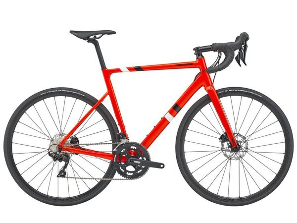 BICICLETA CANNONDALE CAAD 13 DISC SHIMANO 105 22V ARO 700 RED 2020