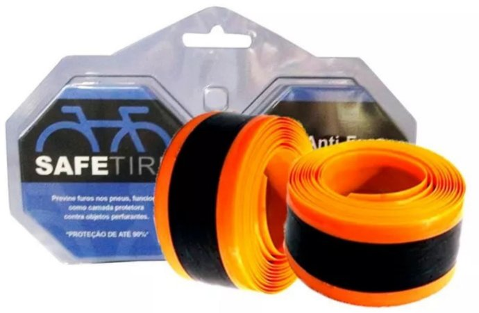 FITA ANTI FURO SAFETIRE LARANJA 23mm PAR-27/700