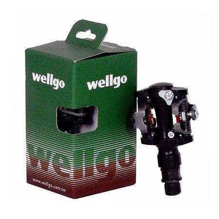 Pedal Wellgo Clip M919 Preto