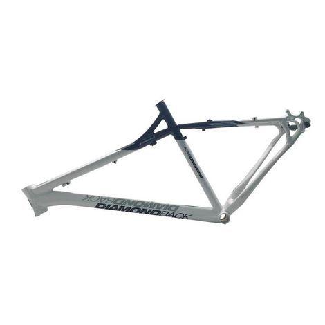 Quadro Bike Bicicleta Diamondback 29 Mtb Overdrive Comp