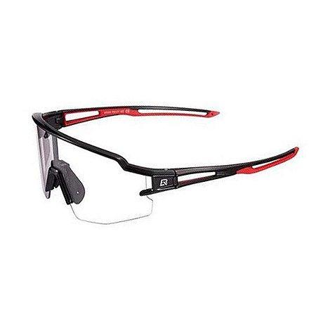 Óculos ciclismo RockBros fotocromático ll 13890 preto/vermelho