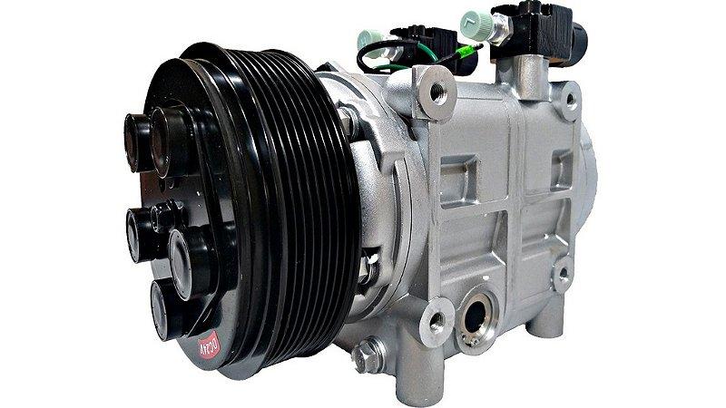 Compressor Tm31 24v Polia 8pk Ar Condicionado Spheros