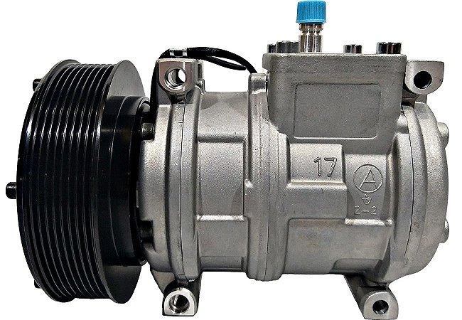 Compressor De Ar John Deere 3510 3520 3522 10pa17c 12v 8pk