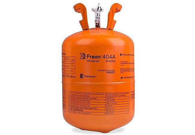 Botija de Gás Refrigerante R404 10,89Kg Chermous