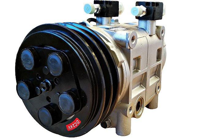 Compressor Ar Condicionado Tm31 2a 24v Para Valeo Spheros