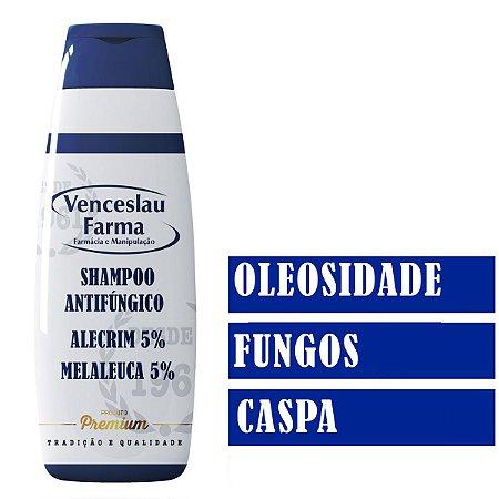 SHAMPOO ALECRIM 5% E OLEO DE MELALEUCA  5% ANTIFUNGICO
