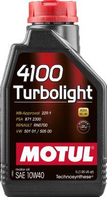 Óleo Motul 4100 Turbolight 10w40