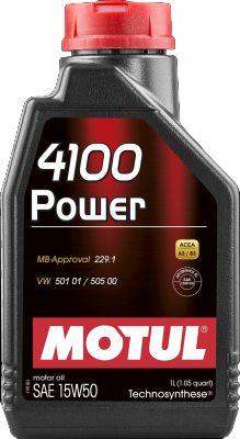 Óleo Motul 4100 Power 15w50