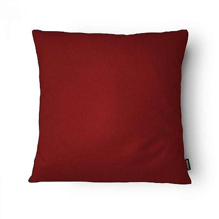 Capa de Almofada veludo colors vermelha