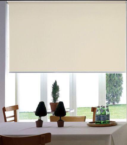 Persiana Rolô Blackout - NOUVEL CREME 1,20 X 1,60 m.