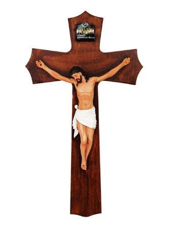 Crucifixo Parede 47  CM - Resina Importada