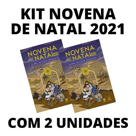 Livro Novena de Natal 2021 - (Kit 2 Unidades)