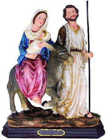 Imagem Nossa Senhora do Desterro 34 Cm - Resina Importada